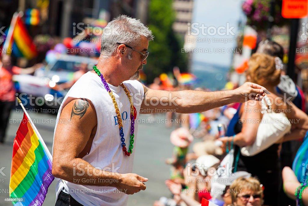 Halifax Pride Parade royalty-free stock photo