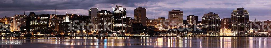 Halifax Skyline royalty-free stock photo