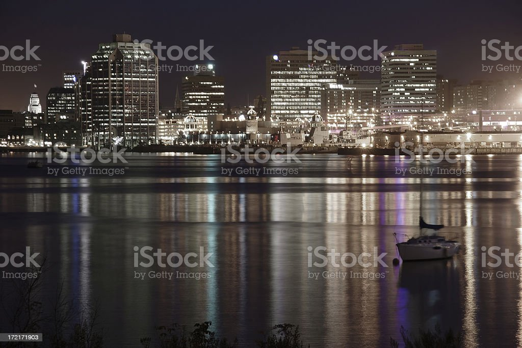 Halifax Waterfront 3 royalty-free stock photo