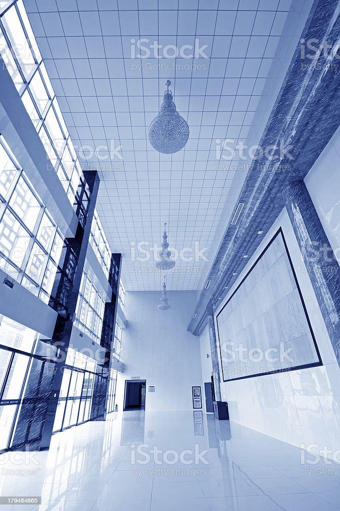 hall indoor decoration stock photo