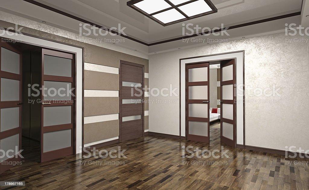 hall interior royalty-free stock photo