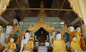 Hall Koo Chein Kan, Shwedagon Pagoda, Yangon, Myanmar