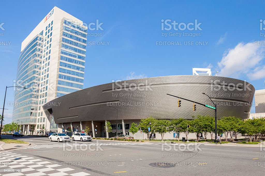 NASCAR Hall Of Fame In Charlotte, North Carolina stock photo