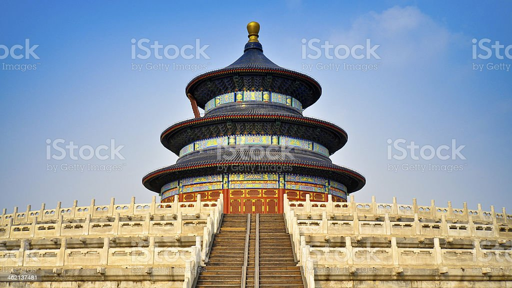 Hall of Prayer for Good Harvests - Beijing, China stock photo