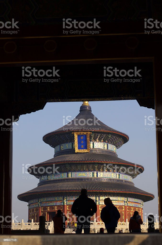 Hall of Prayer for Good Harvests, Tiantan (Temple), Beijing, China royalty-free stock photo
