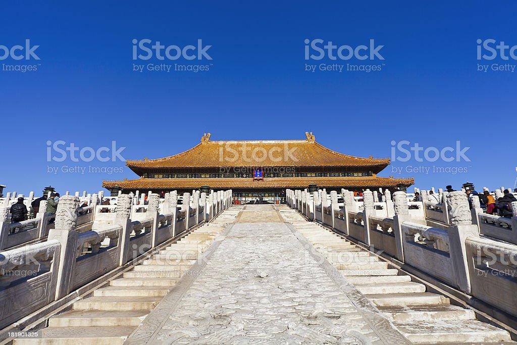 Hall of Supreme Harmony stock photo