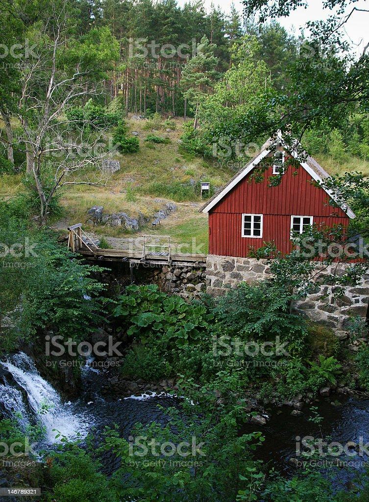 Hallamölla stock photo
