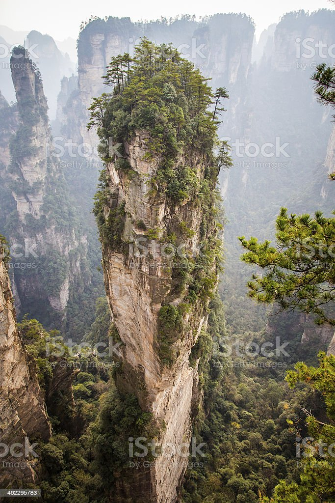 hallelujah mountain stock photo