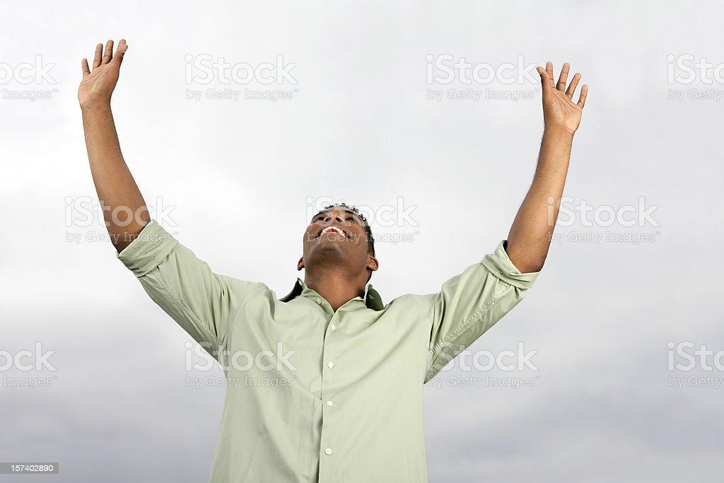 Hallelujah stock photo