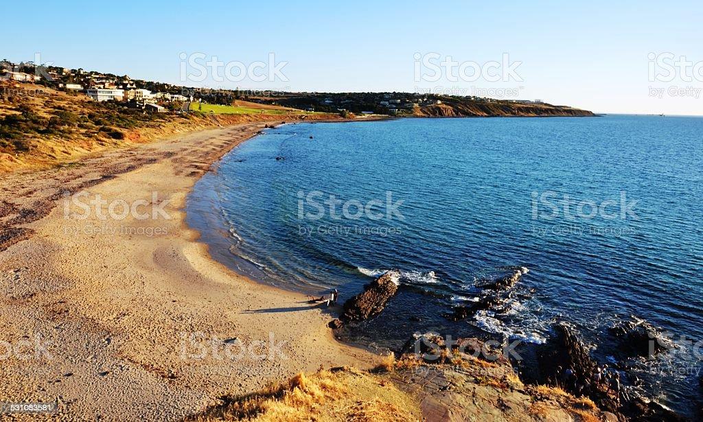 Hallett Cove Beach, Adelaide, Australia stock photo