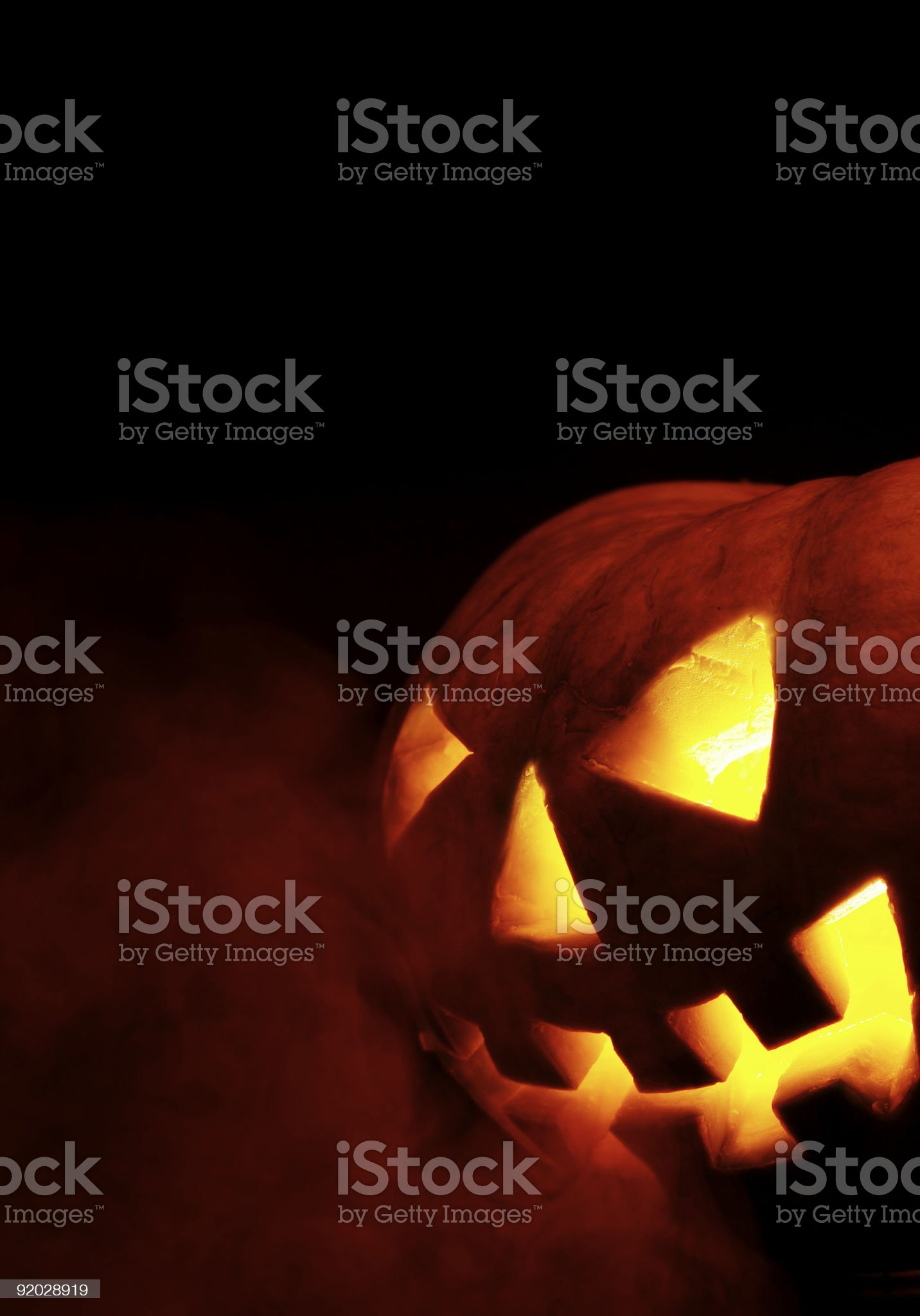 halloween. a-smoke royalty-free stock photo
