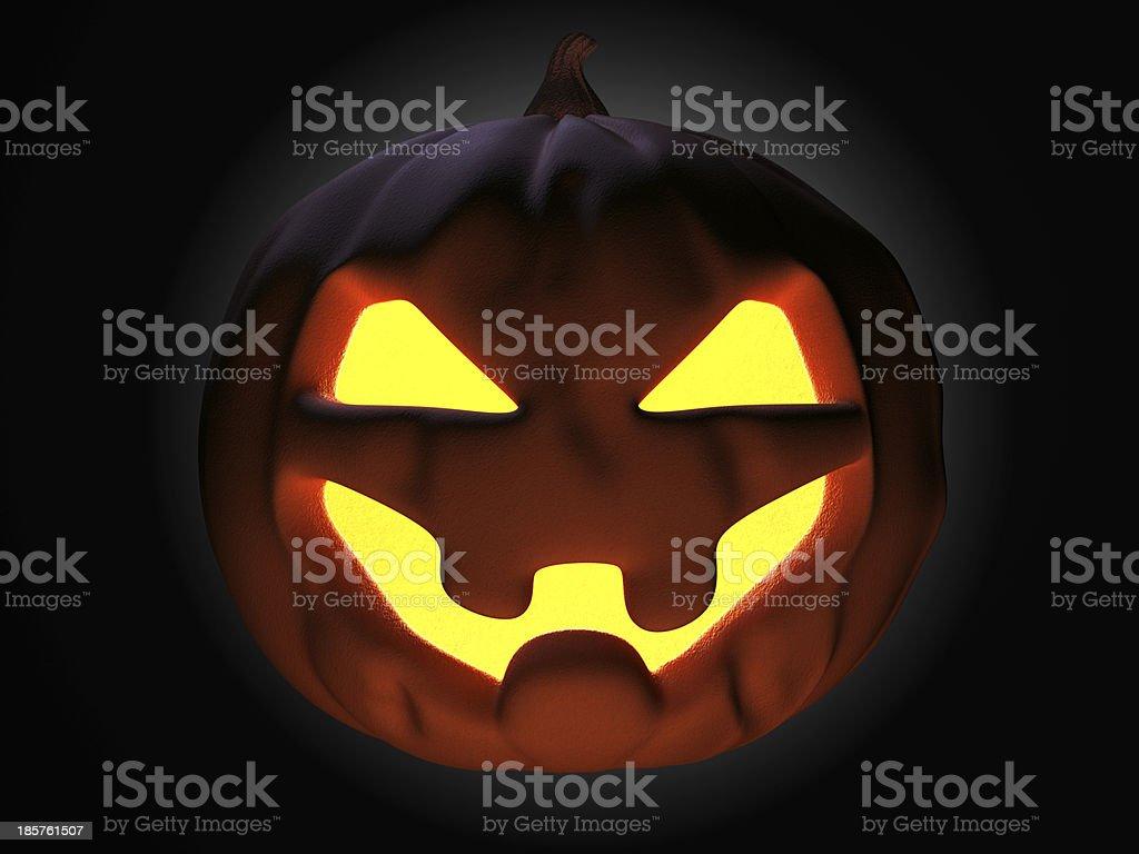Halloween at night royalty-free stock photo