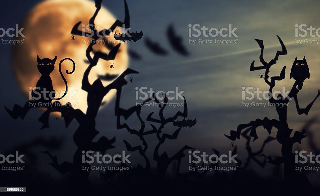 Halloween background stock photo