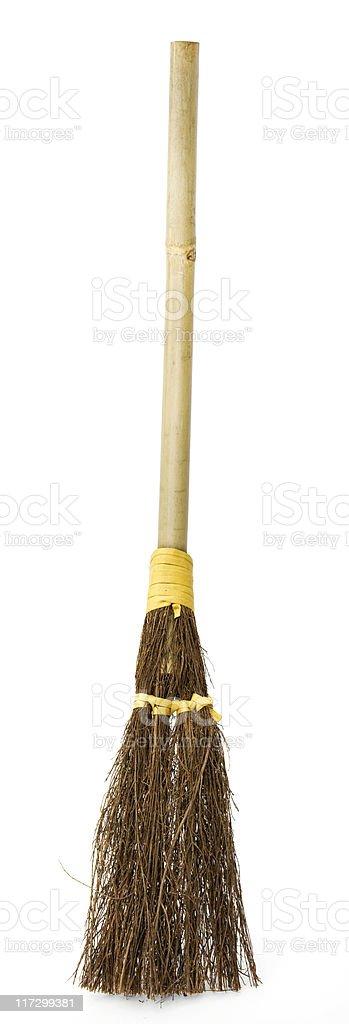 Halloween Broom royalty-free stock photo