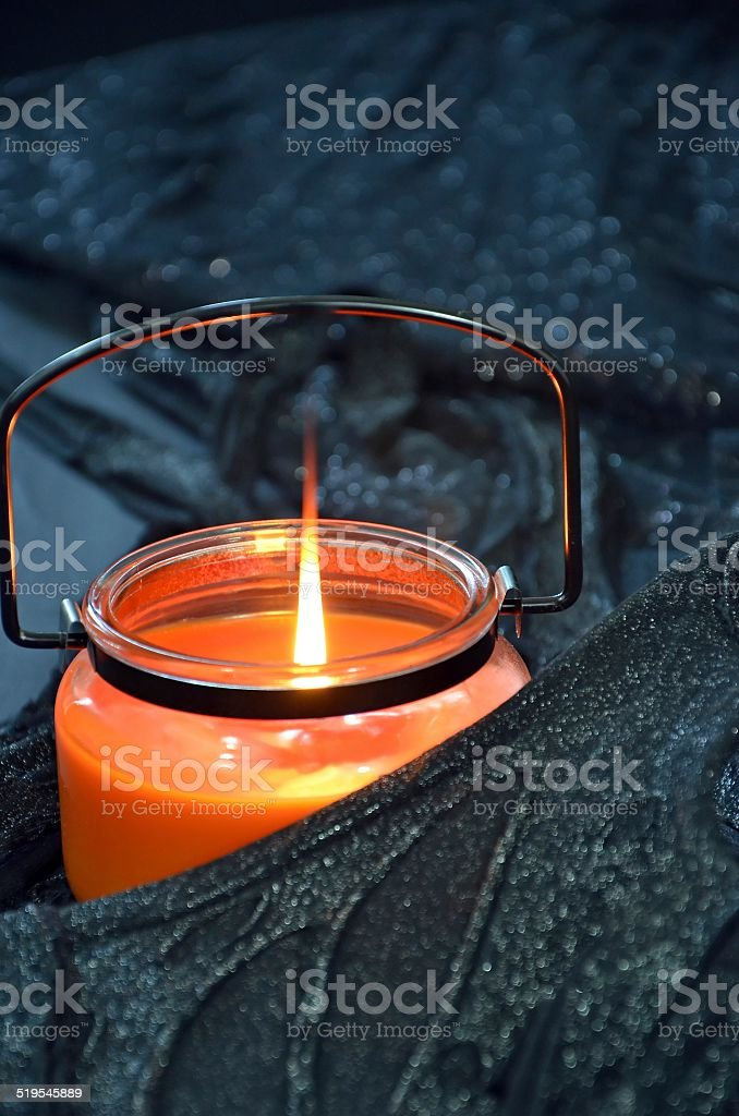 Halloween Candle royalty-free stock photo