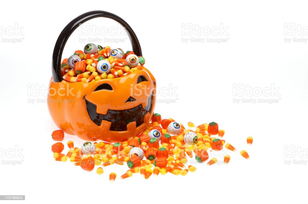 Halloween candy series stock photo