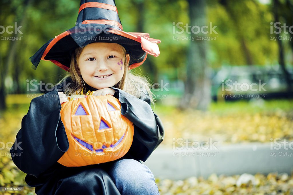 Halloween child royalty-free stock photo