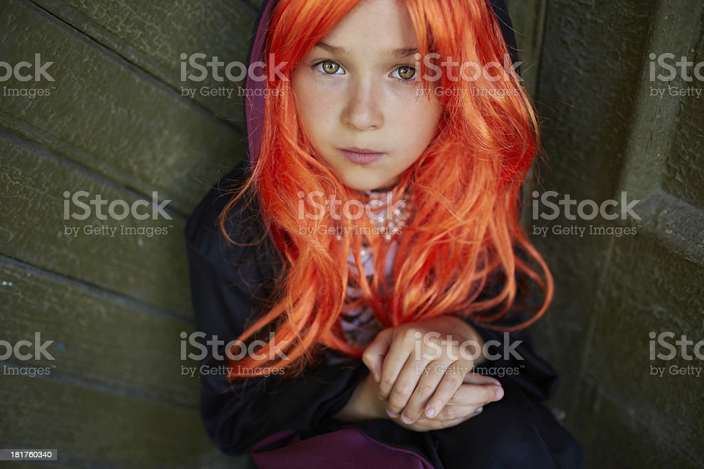 Halloween child royalty-free stock photo