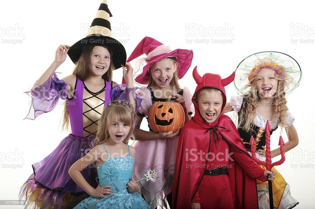 Halloween Children. royalty-free stock photo