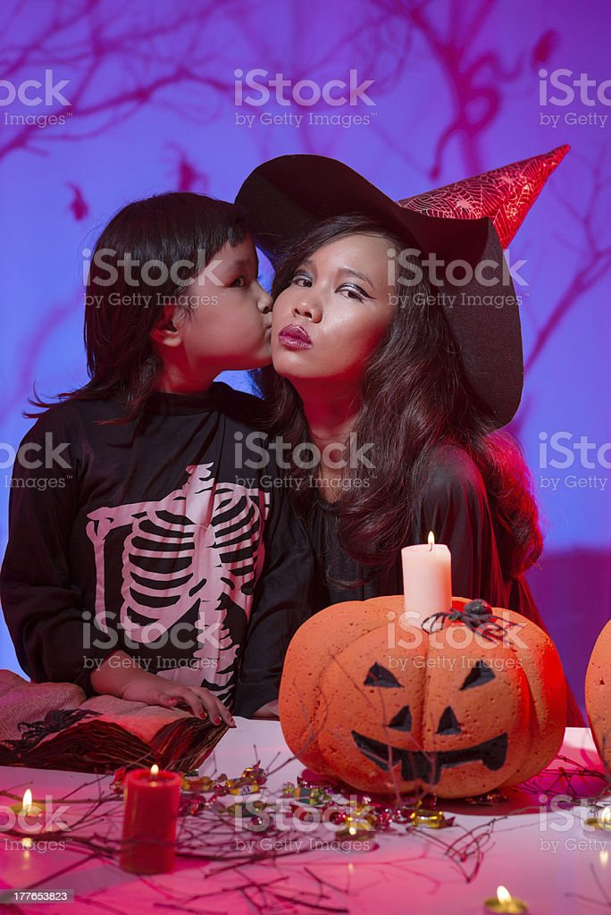 Halloween creatures royalty-free stock photo