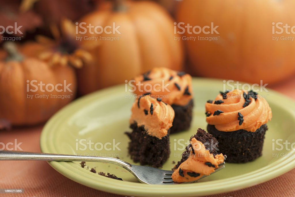 Halloween Cupcakes royalty-free stock photo