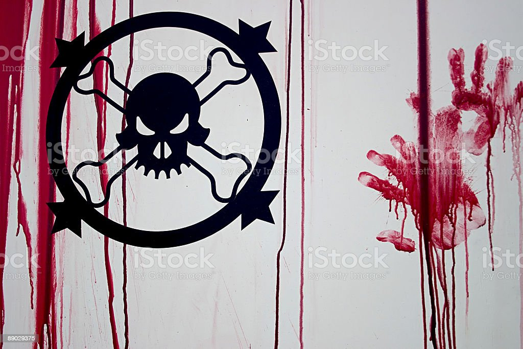 Halloween Death stock photo