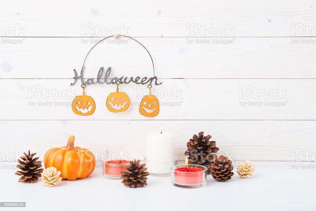 Halloween decoration stock photo