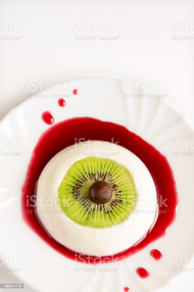 Halloween dessert stock photo