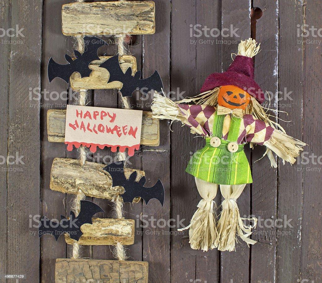 Halloween doll stock photo