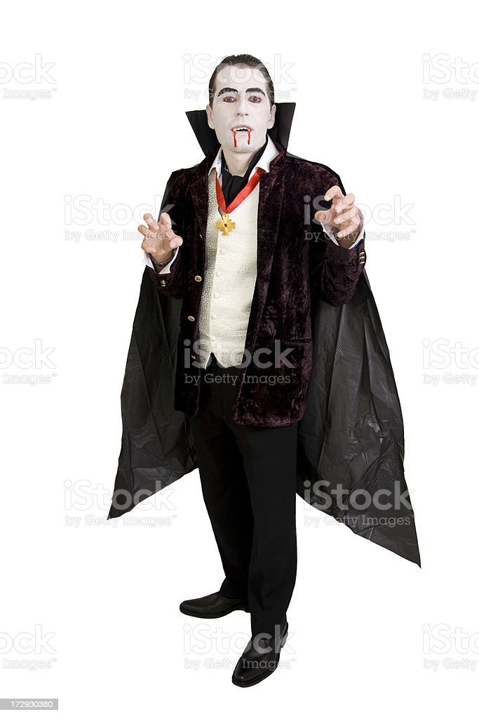 Halloween Dracula stock photo