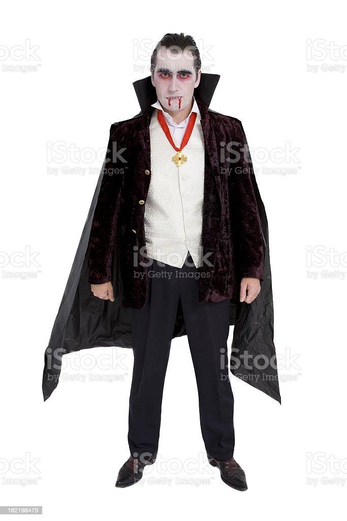 Halloween Dracula royalty-free stock photo