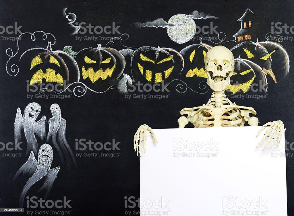 Halloween Drawing royalty-free stock photo