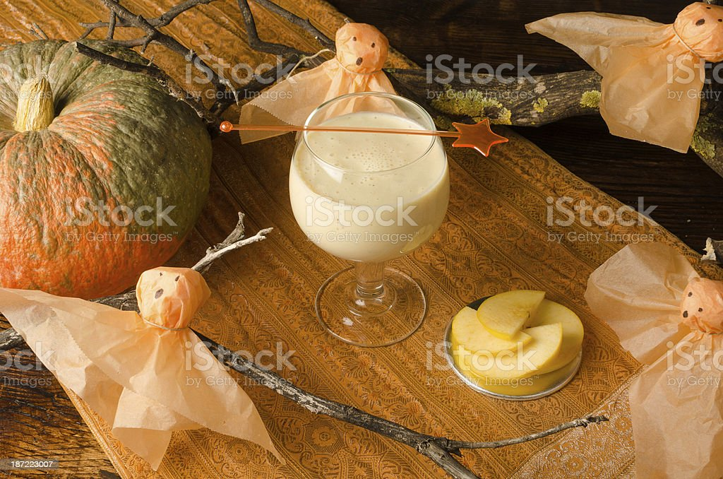 Halloween drink for kids royalty-free stock photo