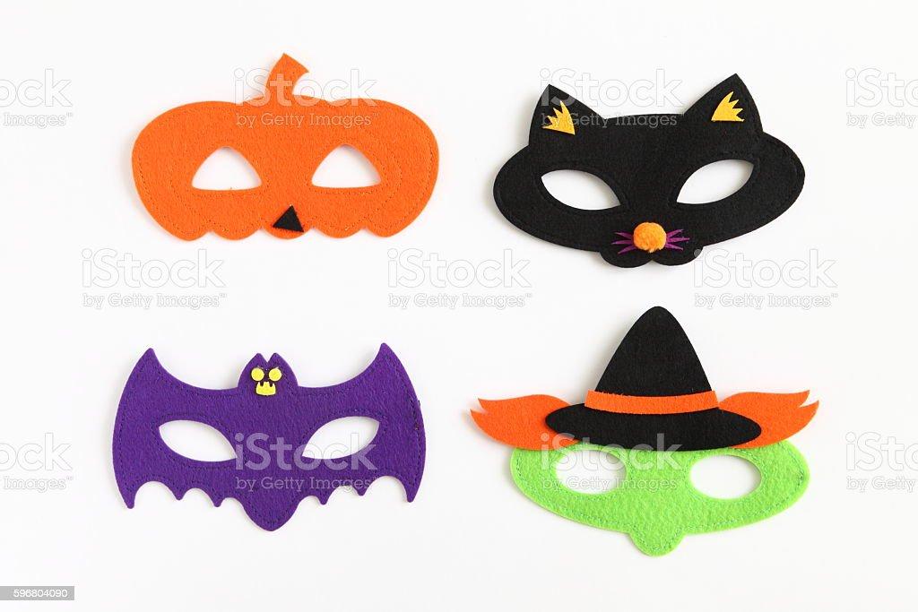 Halloween Eye Masks for Kids stock photo