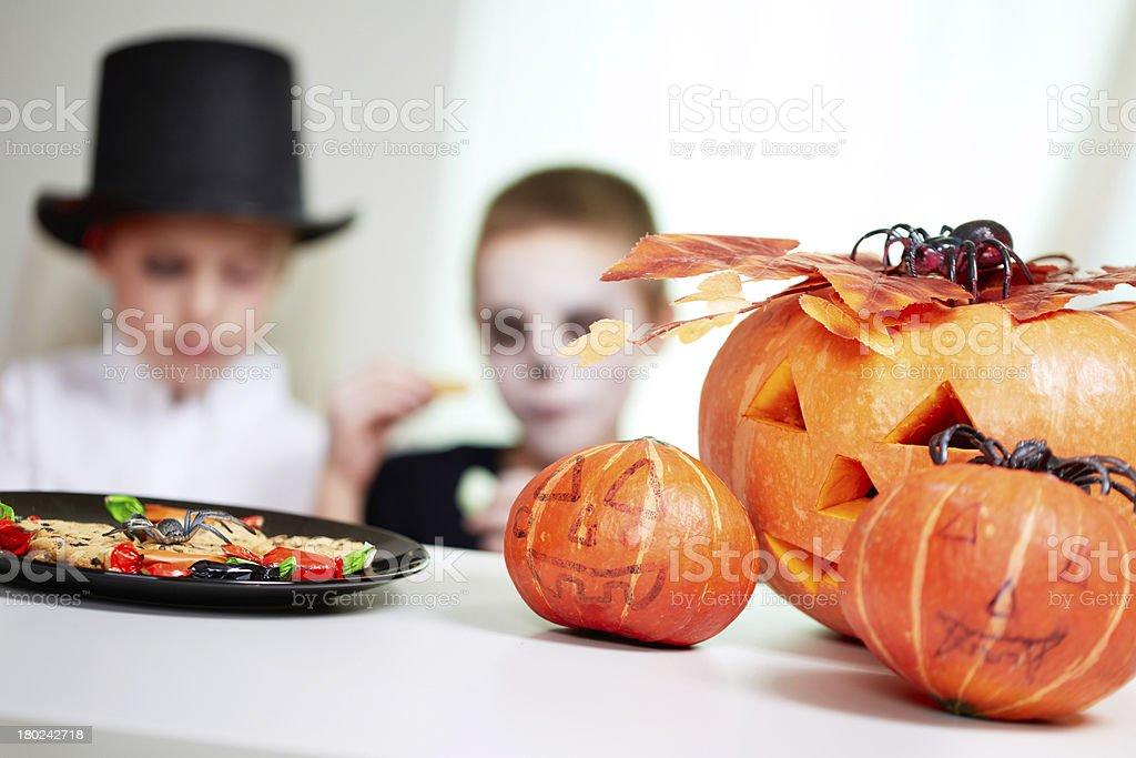 Halloween festive stock photo