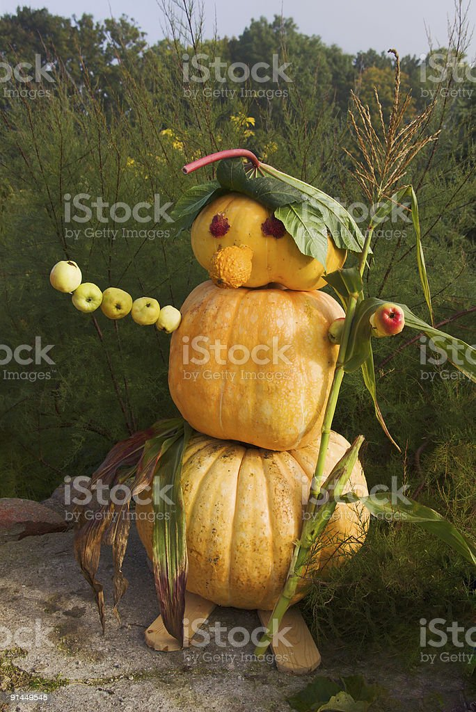 halloween figure royalty-free stock photo