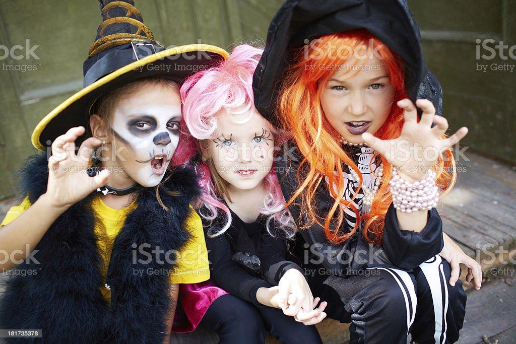 Halloween fright stock photo