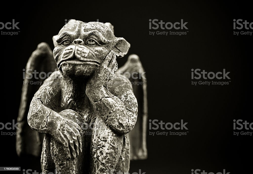 Halloween Goblin royalty-free stock photo