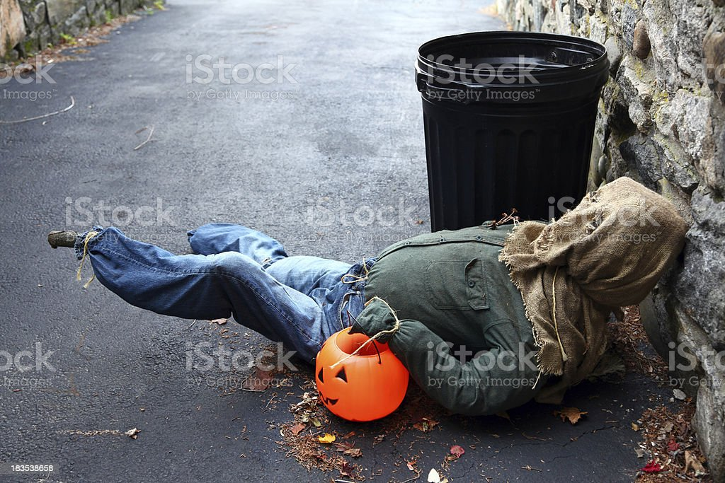 Halloween Hangover royalty-free stock photo