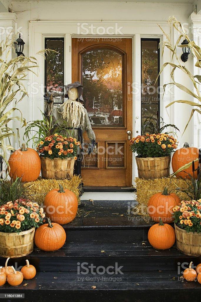 Halloween Home stock photo
