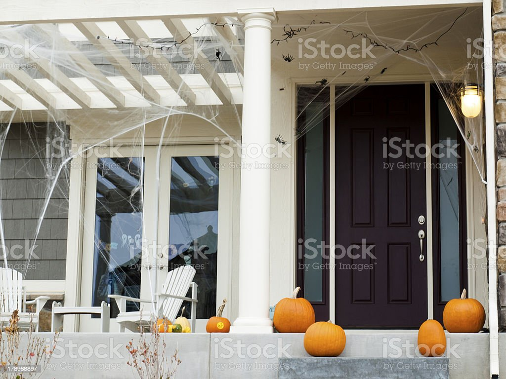 Halloween Home royalty-free stock photo
