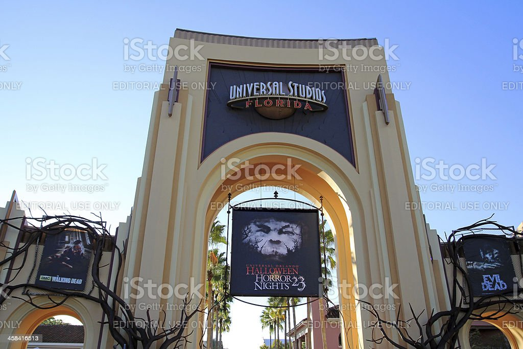 Halloween Horror Nights stock photo