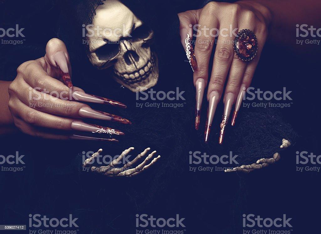 Halloween is coming stock photo