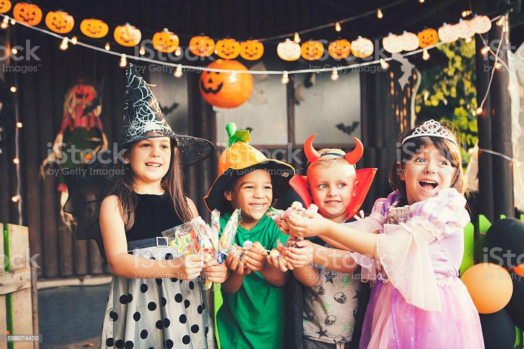 Halloween is here stock photo