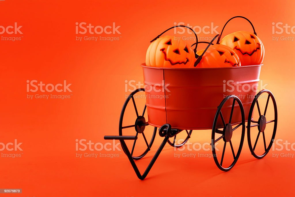 halloween is here stock photo