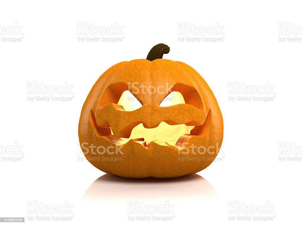 Halloween Jack O' Lantern 3d model stock photo