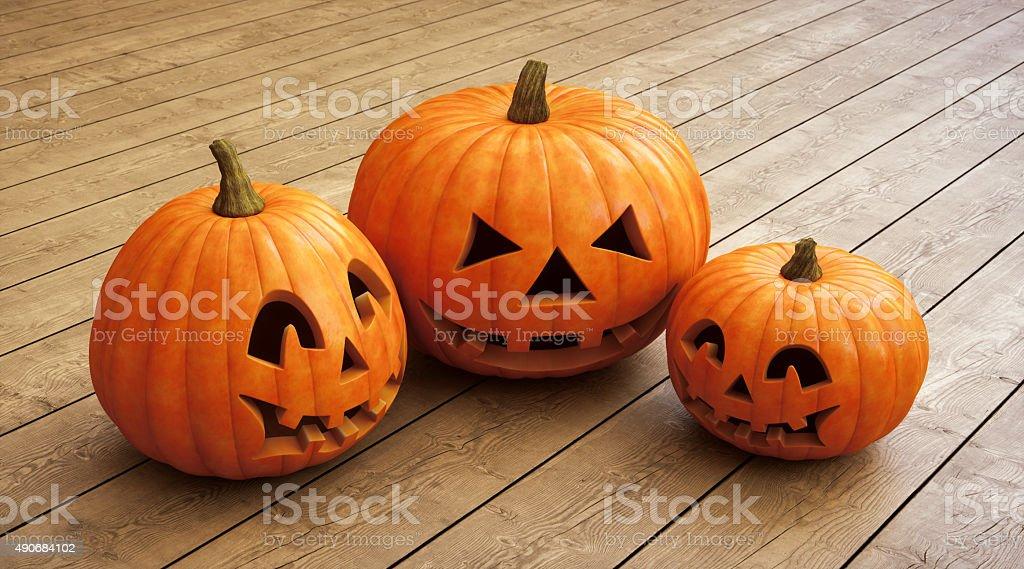 Halloween Jack O' lantern A05 stock photo