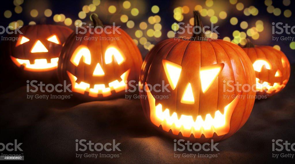 Halloween Jack O' lantern A06 stock photo