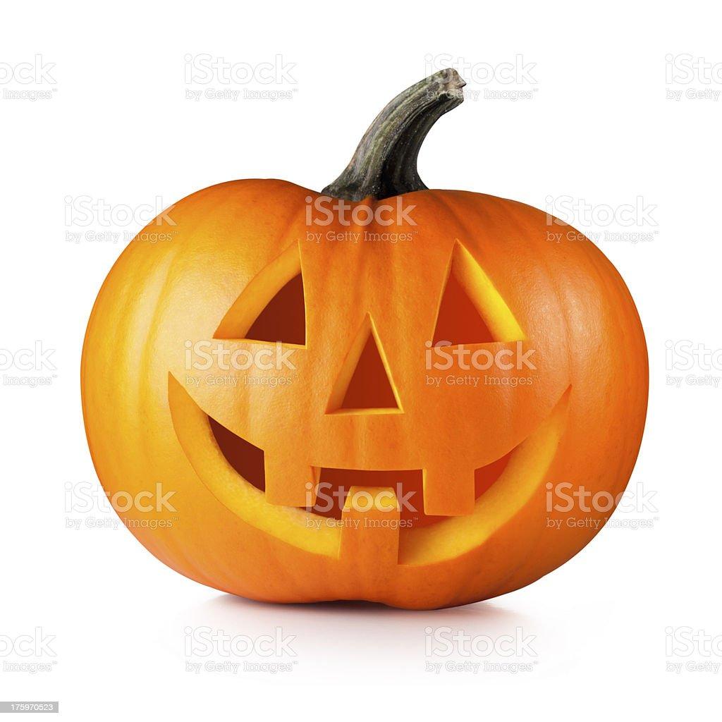 Halloween. Jack O' Lantern. stock photo