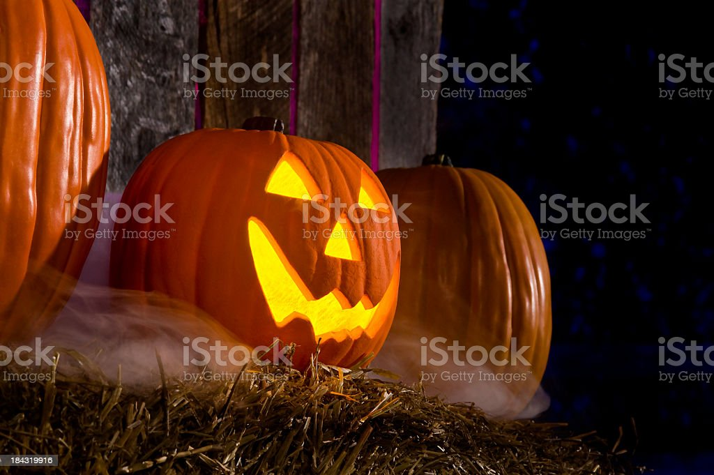 Halloween, Jack O' Lantern royalty-free stock photo